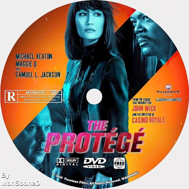 dvd cover The Protege 2021 Dvd Disc Dvd Cover