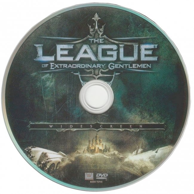 dvd cover The League Of Extraordinary Gentlemen 2003 R1 Disc Dvd Cover