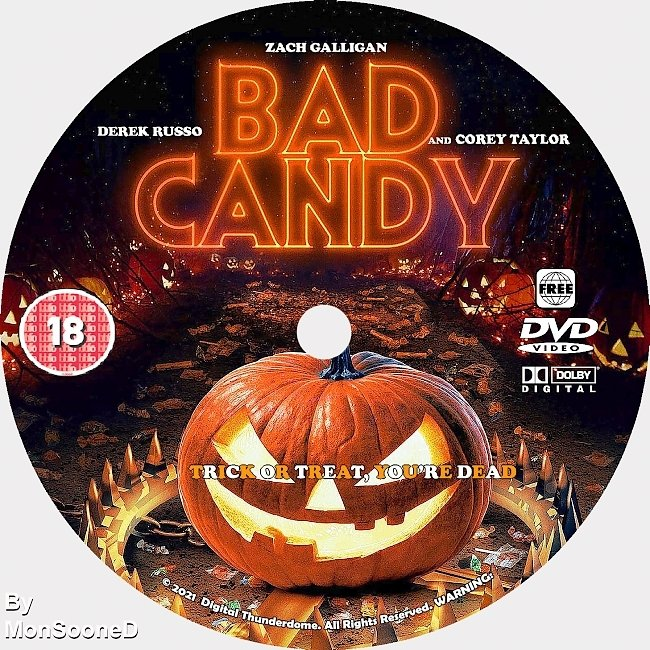 dvd cover Bad Candy 2021 Dvd Disc Dvd Cover