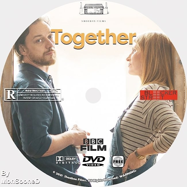 dvd cover Together 2021 Dvd Disc Dvd Cover