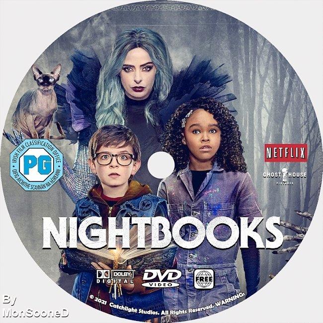 dvd cover Nightbooks 2021 Dvd Disc Dvd Cover