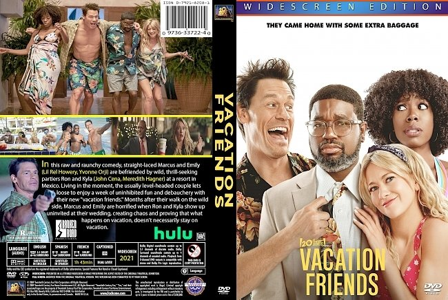 dvd cover Vacation Friends 2021 Dvd Cover