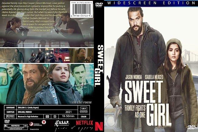dvd cover Sweet Girl 2021 Dvd Cover