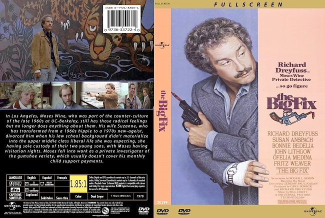 dvd cover The Big Fix 1978 Dvd Cover