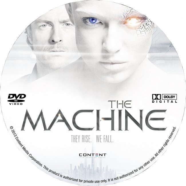 dvd cover The Machine 2013 R1 Disc Dvd Cover