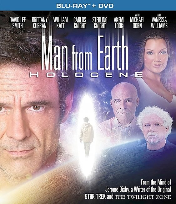 dvd cover The Man From Earth Holocene 2017 R1 Front Dvd Cover